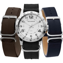 Relógio Masculino Technos Military 2035lwa/0b Troca Pulseira