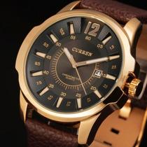Relógio De Pulso Quartz Marca Curren