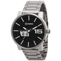 Relógio Xgames Xmssa002 P2sx Masculin Aço Anadigi - Refinado