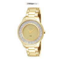 Relógio Dourado Feminino Dumont Du2035lmm/4x - Lançamento.