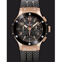 Relógio Big Bang Gold Cerâmica - Cronógrafo