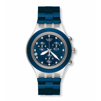 Relógio Swatch Full-blooded Sea Svck4041ag