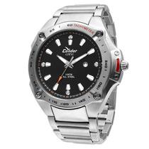 Relógio Masculino Prata - Kc20958/4p Condor