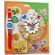 Relogio Mondaine Infantil Masc E Fem Original Model 46502mo