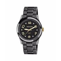 Relógio Technos De Cerâmica Preto Vidro De Safira 2036ij/1p