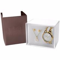 Relógio Dumont Feminino Du2036lsg/k4b - Kit Feminino