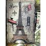Conjunto Porta Livros Madeira Cidades Londres Paris Ny Paris