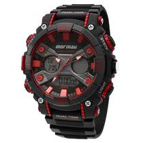 Relógio Mormaii Anadigi Yp12598/8r Oferta Garantia E Nf