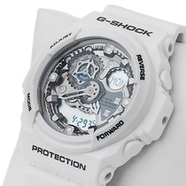 Presente De Natal Relógio Casio G-shock Ga-300 Origin Branco
