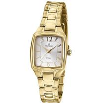 Relógio Feminino Champion Dourado Quadrado Cs28281h