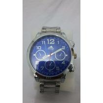 Relógio Importado Masculino Analógico Adidas Azul Jb