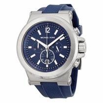 Relógio Michael Kors Mk8303 Azul Original Frete Grátis