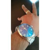 Relógio Quiksilver Pulseira Dourada E Ponteiro