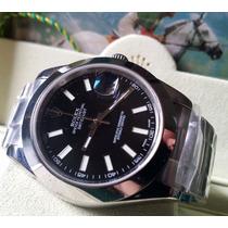 Relógio Eta A2836 Modelo Datejust Ii Dial Preto