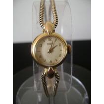 Antigo Relógio De Pulso Feminino Tissot Swiss A Corda