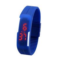 Relógios Led Digital Silicone À Prova D