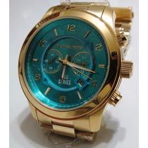 Relógio Feminino Michael Kors Mk8358 Grande Rose 8358 5815