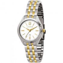 Relógio Lince Lrt4202l B2sx Feminino Prata Dourad - Refinado