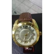 Relógio Condor Original 50metros Folheado A Ouro Promoção