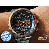Relogio Invicta Aviator Tritnite 17203 - Aço Deth Banh Ouro
