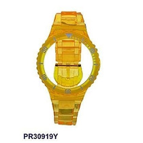 Pr30919y Pulseira Avulsa Original Champion Amarela Transl...