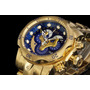 Relógio Invicta 14463 Venom Hybrid Banhado A Ouro 18 K Cron