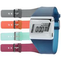 Relógio Mormaii Digital Troca Pulseiras Acquarela Fzj/8p