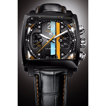 Relógio Tag Monaco 24 Calibre 36 Transparente Automático