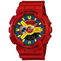 Relógio Casio Masculino G-shock Ga-110fc-1adr Vermelho