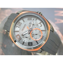 Relógio Orient Calendario Quartzo Preto Pvd Mpspm006