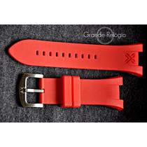 Pulseira Armani Ax1050-1040 Vermelha