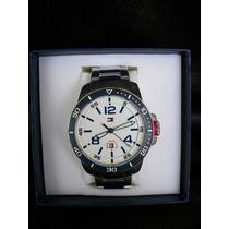 Relógio Masculino Tommy Hilfiger Aço Inox Novo