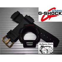 Kit Capa Casio E Pulseira Dw9052 /9000/ 9050 / 9051 G-shock