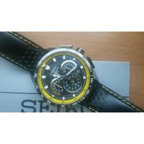 Belíssimo Relógio Seiko Chronograph Semi-novo Na Caixa