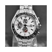 Relógio Curren 8083 Aço Inoxidável Com Mostrador Branco.