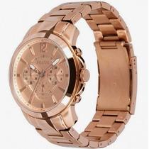 Relógio Fossil Rose Em Aço Chronograph Ffs4635n