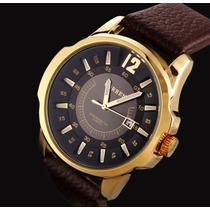 Relógio Curren - Social Luxuoso Modelo 8123 Frete Grátis