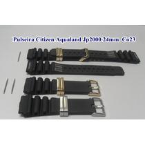 Pulseira Citizen Aqualand Jp2000 24mm Co23