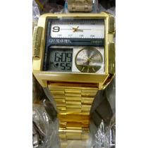 Relógio Diesel Quadrado Frete Grátis