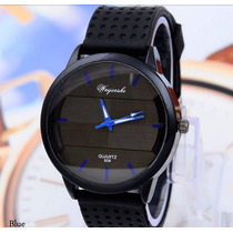 Relógio Feminino Unissex Cores Pulseira Silicone Weijieshi