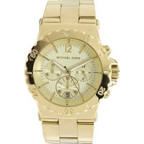 Relógio Michael Kors Mk5463 Dourado Original, Garantia 12x
