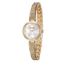 Relógio Mondaine Feminino Dourado Pedras 83254lpmvdm1