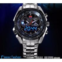 Relógio Masculino 2016 Tvg Km-468 Seal Elite Milit