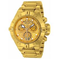 Relógio Invicta Subaqua Noma 4 Iv 14497 Gold