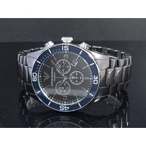 Lindo Relógio Armani Exchange Ar1429 Em 12 X Sem Juros!