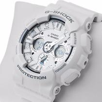 Relógio Casio G-shock Ga-120a-7a - Original Branco