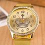 Relógio Feminino? Lindo Relógio Feminino Dourado - Barato