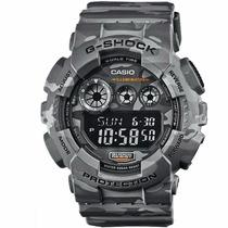 Relógio Casio G-shock Gd-120cm-8dr Camuflado Original
