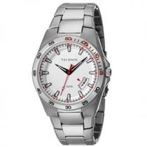 Relógio Technos 1s13ah/1b Prata Pulseira Metal Wr 10atm Nfe