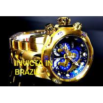 Lançamento Invicta 14463 Venom B.ouro 18k Original Completo